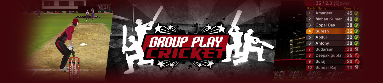 Group Play Cricket