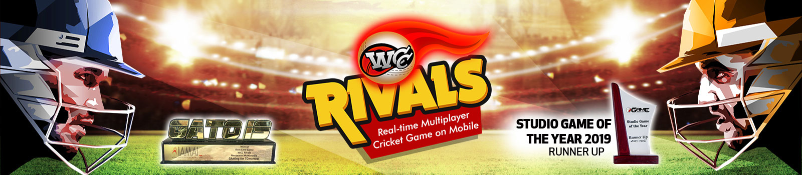 WCC Rivals is the first full featured multiplayer cricket game on mobile