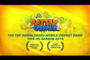 Victory for Chennai Super Kings-Battle of Chepauk 2