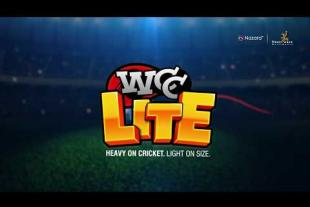 Wcc Lite HEAVY ON CRICKET, LIGHT ON SIZE!