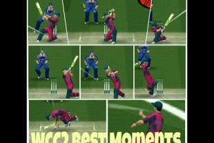 WCC2 Best Moments- Unorthodox Batting Shots