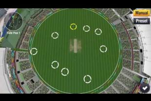 Manual fielding placement on WCC 2